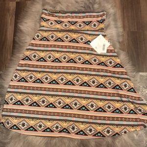 NWT Sz M LulaRoe Azure Skirt